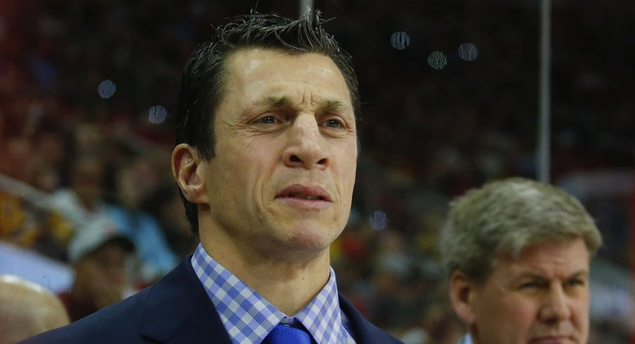 Rod Brind'Amour won a Stanley Cup as the captain of the Carolina Hurricanes. He'll now look to do the same behind their bench.