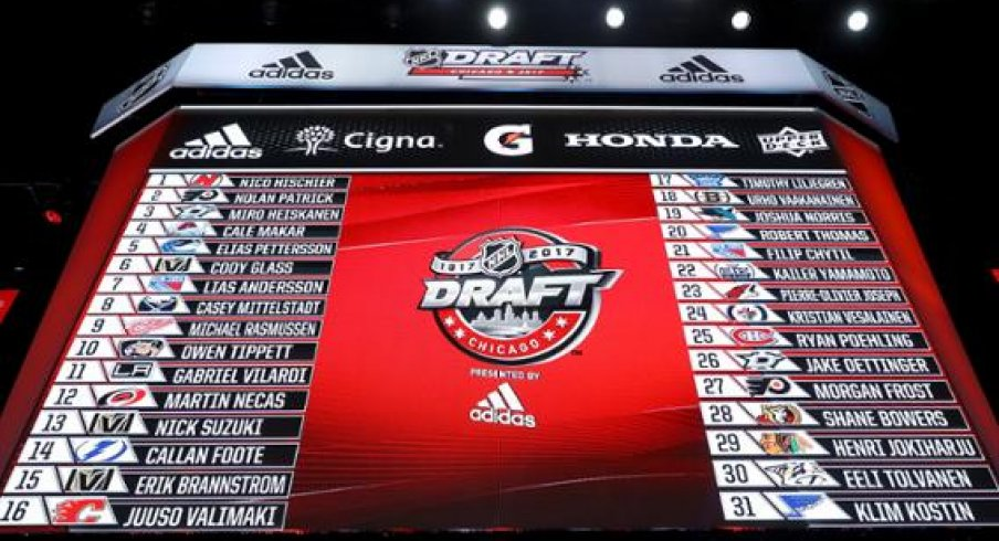2017 NHL Draft Board