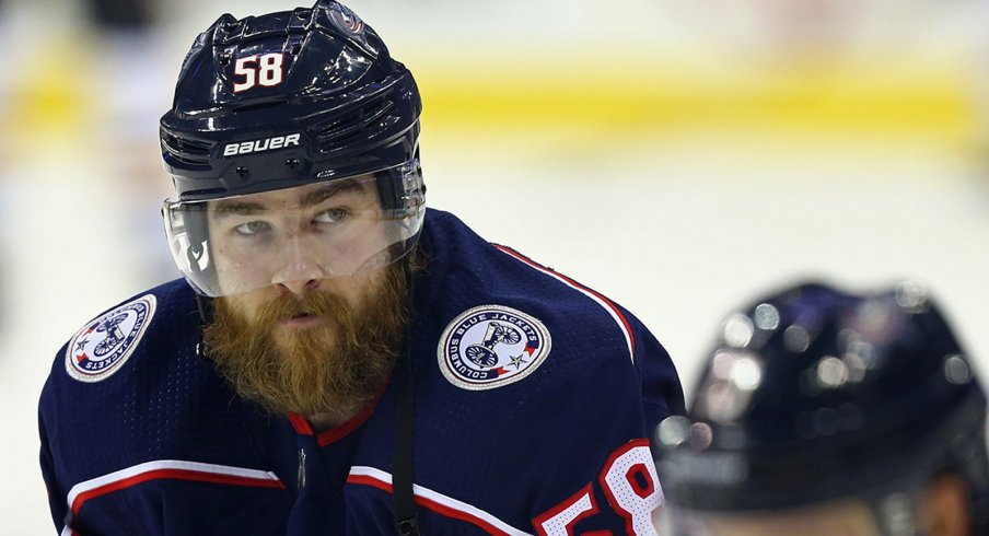 David Savard's underlying stats show a prisoner begging to be set free from the wrath of Jack Johnson