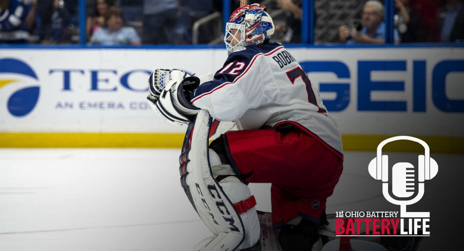 Sergei Bobrovsky tries to regroup after a tough period against the Tampa Bay Lightning