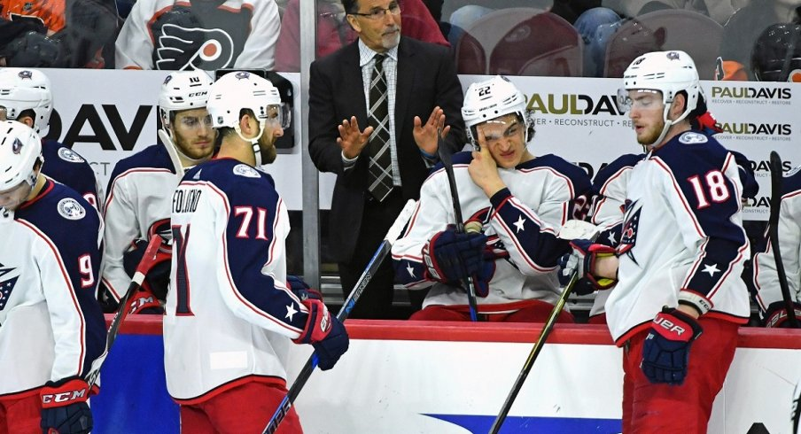 John Tortorella Preaches Patience to His Team As They Take On The Philadelphia Flyers