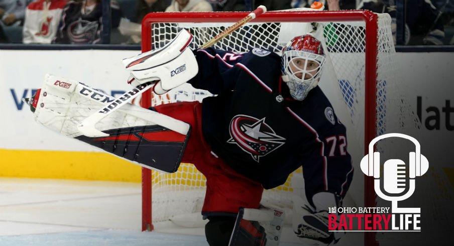 Goaltender Sergei Bobrovsky has been worrisome recently but can he turn it around?