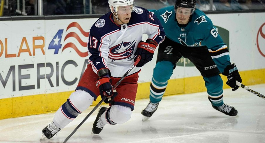 Cam Atkinson is currently second on the Blue Jackets in points with 11, and tied for first with six.