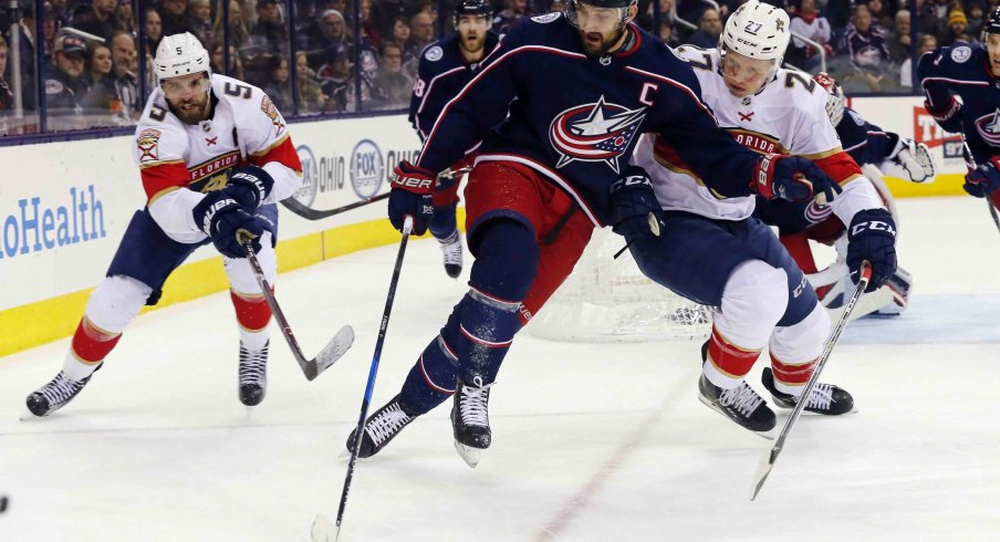 Nick Foligno is ranked fourth on the Columbus Blue Jackets in points with 11, tallying six goals and five assists on the season.