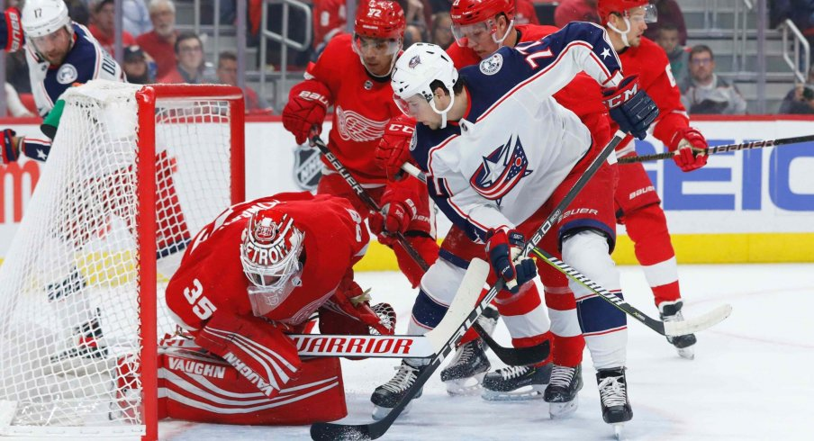 Josh Anderson is currently third in goals for the Columbus Blue Jackets with 11 on the season.