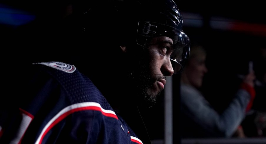 Anthony Duclair has 12 points in 24 games for the Columbus Blue Jackets.