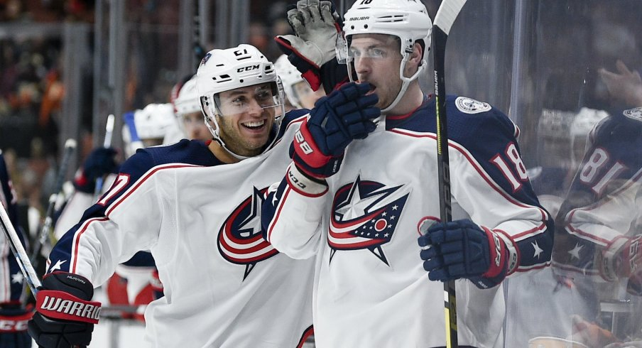 Ryan Murray already has his second-highest point season for the Columbus Blue Jackets with 13 through 26 games.