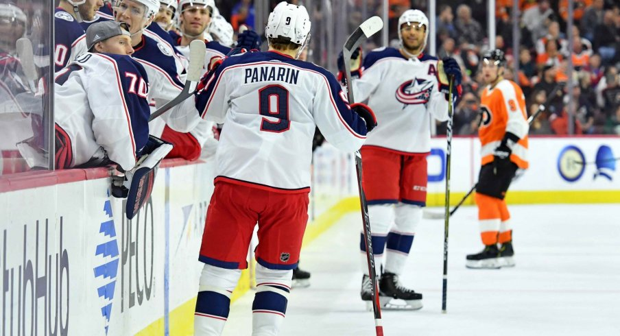 Artemi Panarin is second on the Columbus Blue Jackets in points with 29, with 22 of those points being assists.