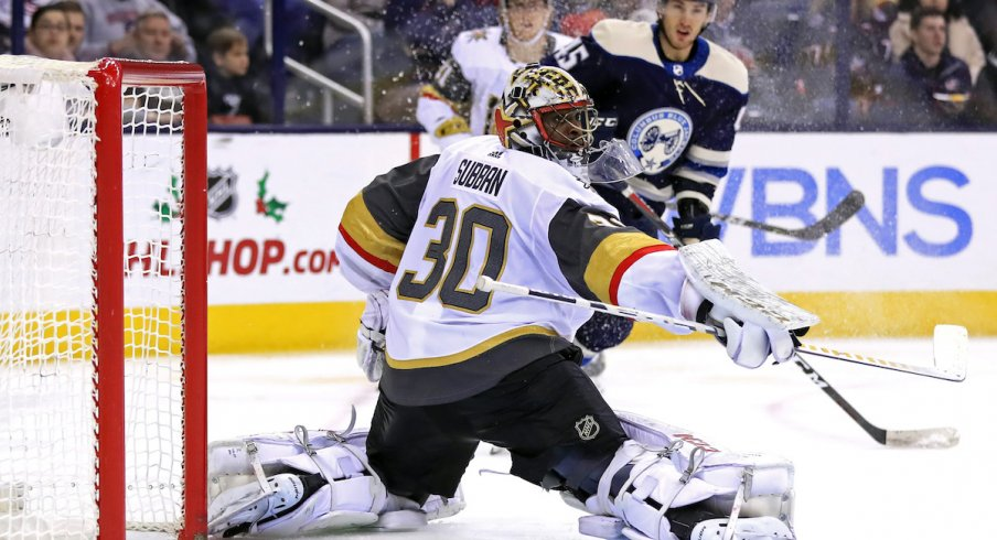 Blue Jackets Bounce Back With Solid Effort In 1 0 Win Over Vegas