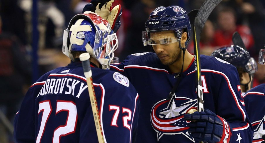 Columbus Blue Jackets' goaltender Sergei Bobrovsky has only allowed four goals in his past four starts.