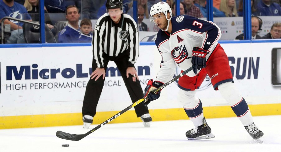 Seth Jones has seven goals and 22 assists for the Columbus Blue Jackets through 41 games, and just made his third all-star game appearance.