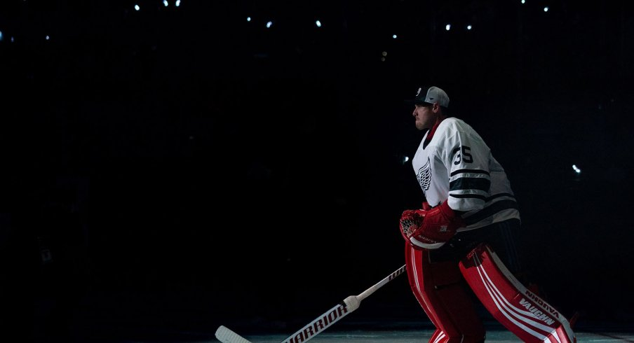 Jimmy Howard represented the Atlantic Division at the NHL All-Star Game.