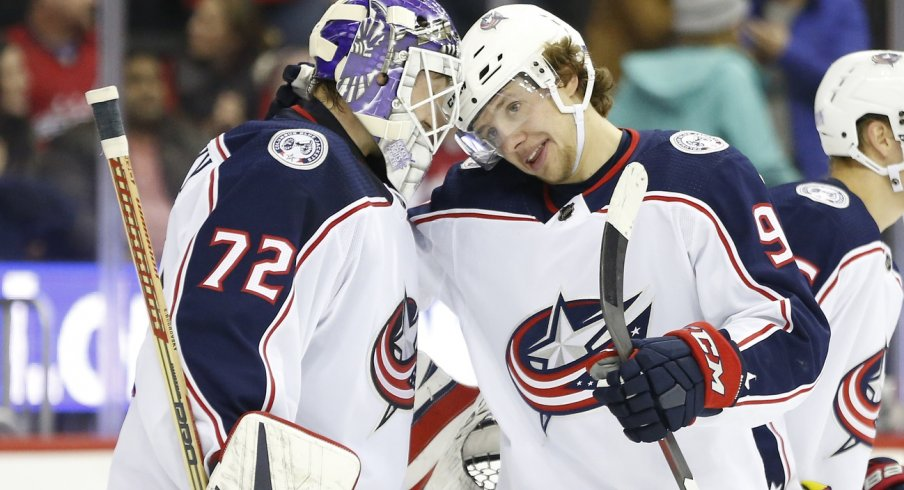 Artemi Panarin and Sergei Bobrovsky may not be long for the Columbus Blue Jackets