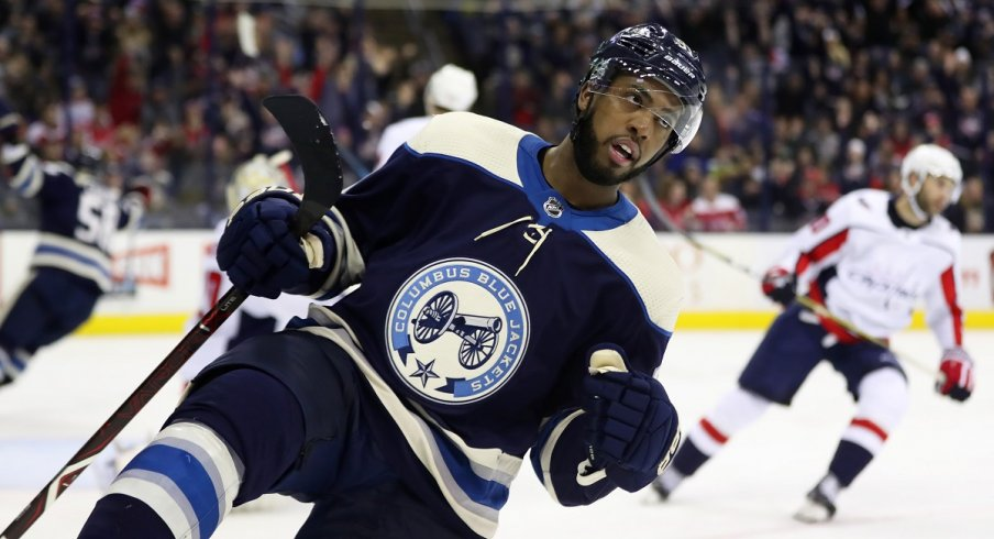 Anthony Duclair celebrates his 11th goal of the season