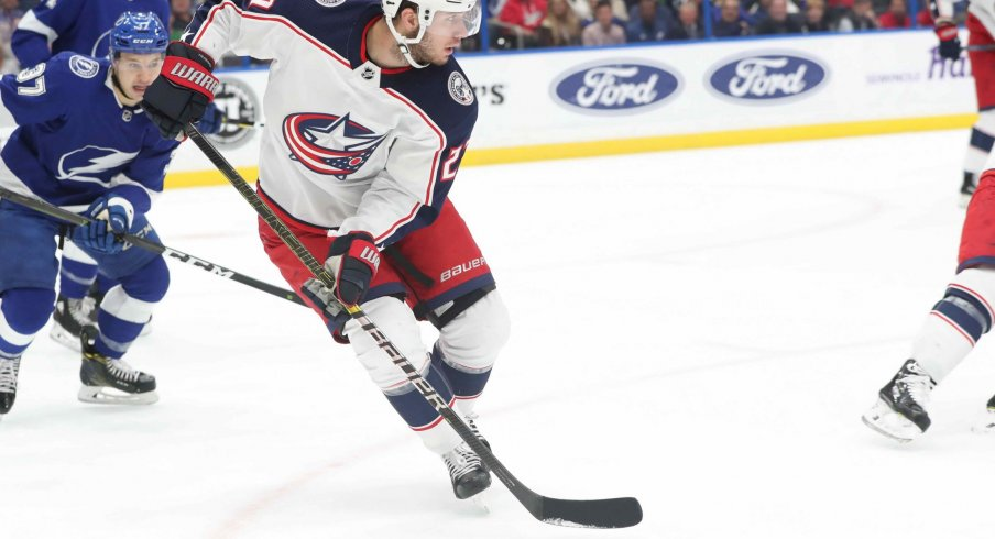 Ryan Murray officially eclipsed 100 career points as a member of the Columbus Blue Jackets in a 5-2 win over the Chicago Blackhawks on Saturday night.