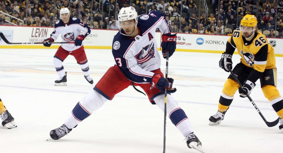 Seth Jones (3) looks to get back to his normal self after a bit of underwhelming play for the past few weeks.