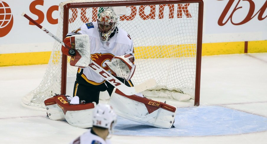 Mike Smith has turned in a solid season for the Calgary Flames.