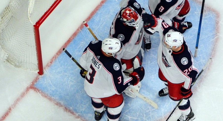 The Columbus Blue Jackets have won five straight games, and control their own destiny to make the playoffs.