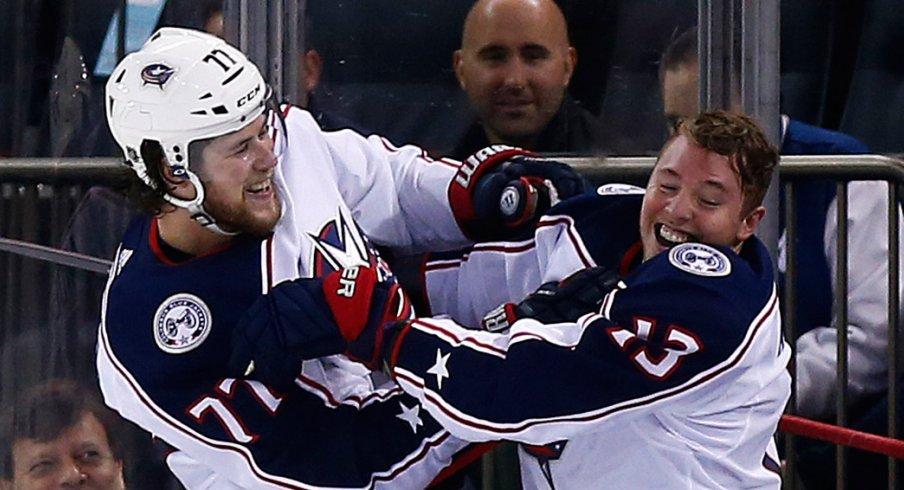 The Columbus Blue Jackets are headed back to the Stanley Cup Playoffs for the third straight season.