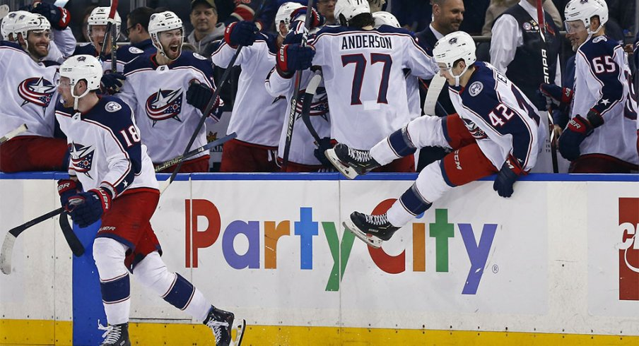 The Columbus Blue Jackets have punched their playoff ticket.
