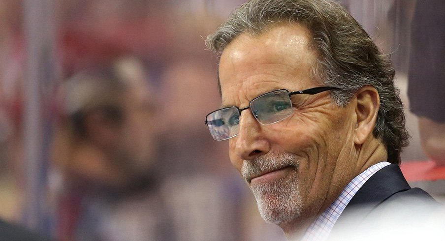 John Tortorella was proud of how his Blue Jackets overcame a turbulent season to make the Stanley Cup Playoffs.