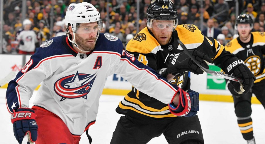 The Blue Jackets Will Face The Boston Bruins In Round 2 Of The