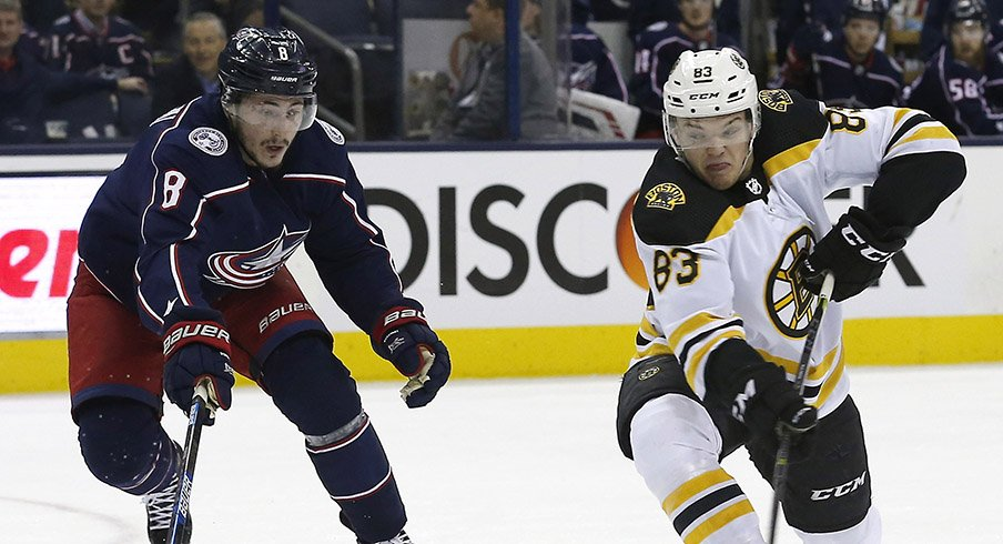 Zach Werenski will need to play the series of his life against Boston.