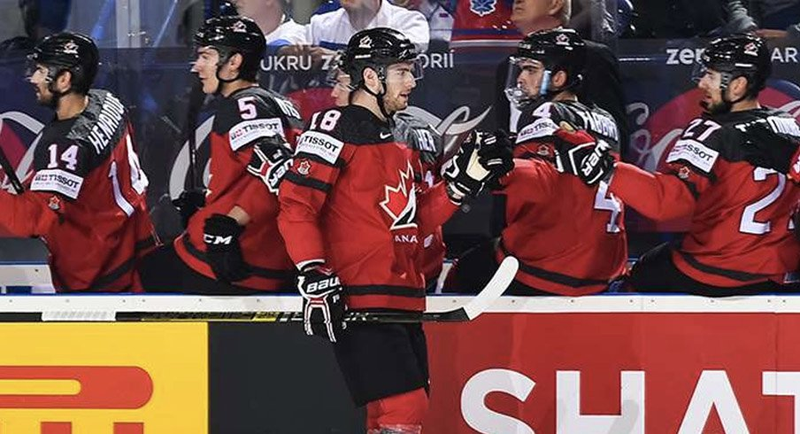 Pierre-Luc Dubois has six points in six games for Team Canada at the 2019 IIHF World Championship.