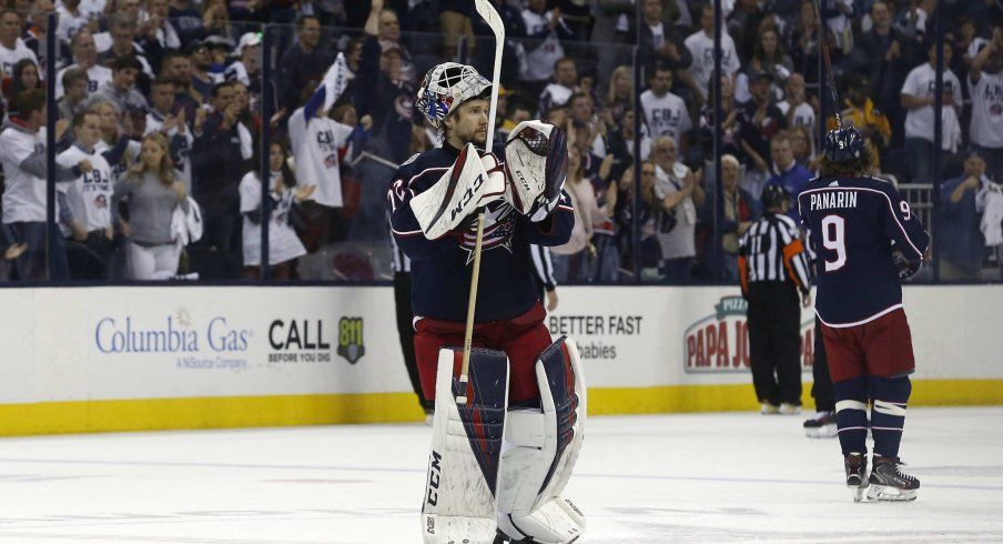Sergei Bobrovsky has played for the Columbus Blue Jackets for seven seasons, and that might be coming to a halt this offseason.