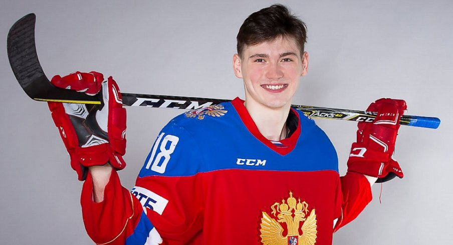 Team Russia: Kirill Marchenko