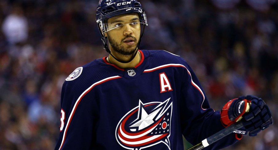 Seth Jones has averaged nearly 50 points per season the last three years for the Columbus Blue Jackets.