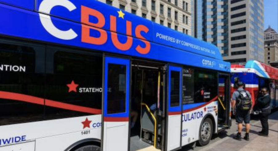 COTA's CBus circulator helps people move about downtown Columbus.