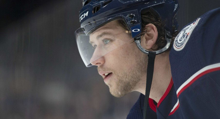 Josh Anderson has just two points through eight games for the Columbus Blue Jackets.