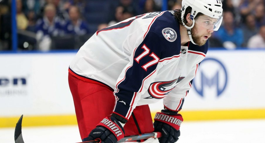 Josh Anderson had a career-high 27 goals and 20 assists last season, but has just one goal during the 2019-2020 campaign for the Columbus Blue Jackets.