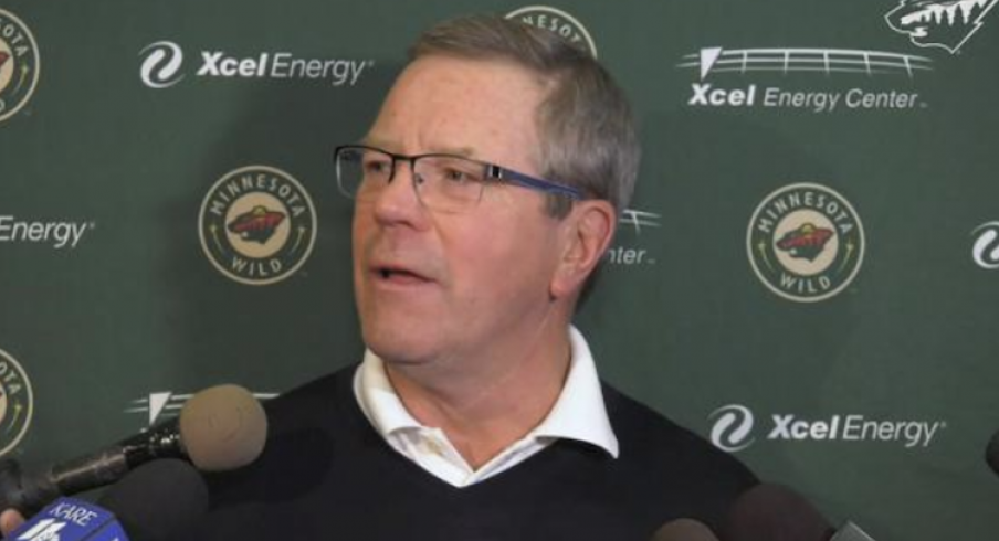 Former Minnesota Wild GM Paul Fenton is back in the NHL as a scout with the Columbus Blue Jackets.