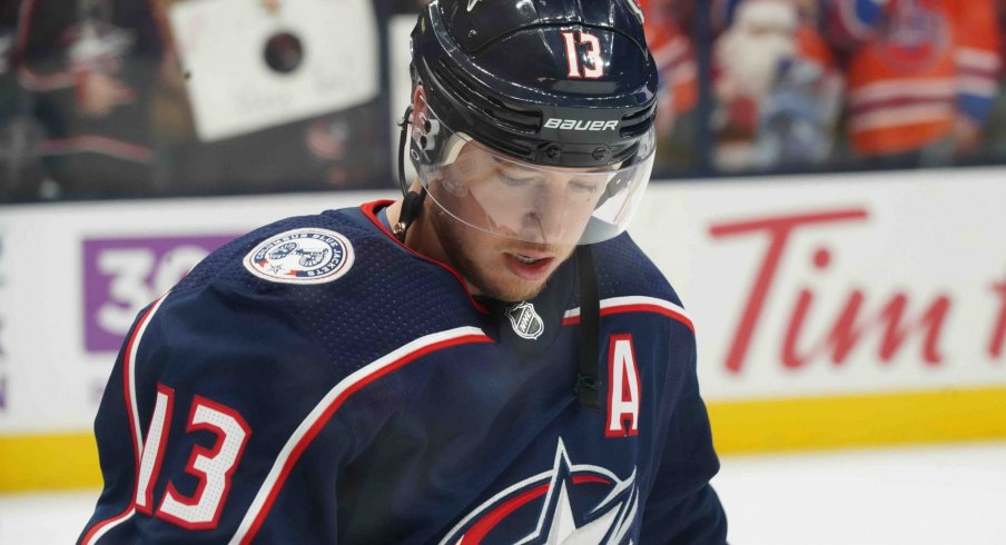 Cam Atkinson has 12 goals through 44 games this year, far behind his 41 in 80 from a season ago with the Columbus Blue Jackets.