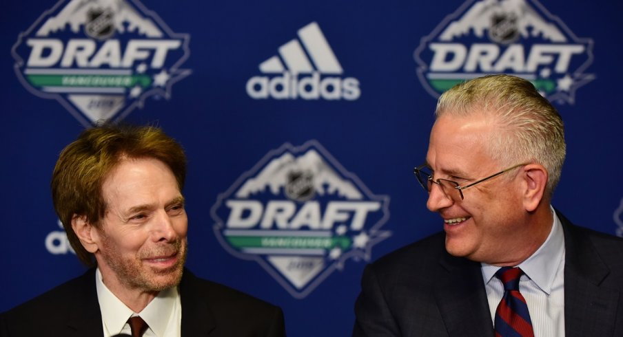 NHL Seattle'sJerry Bruckheimer and Tod Leiweke