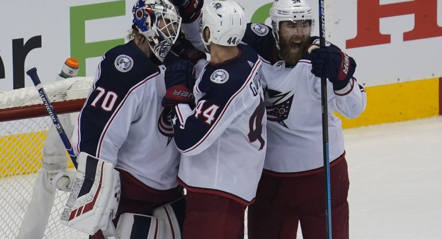 Columbus Moves On To Round One