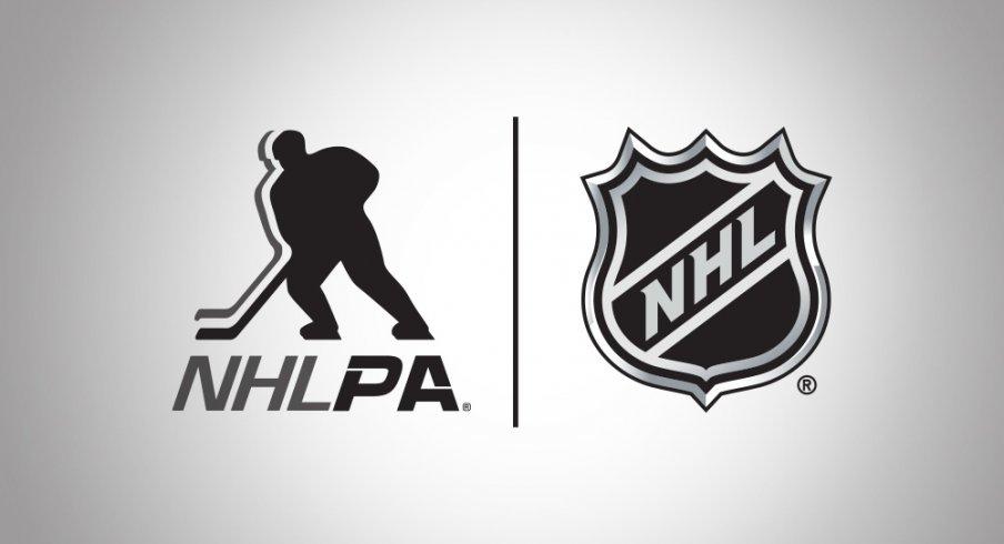 NHLPA and NHL Logo