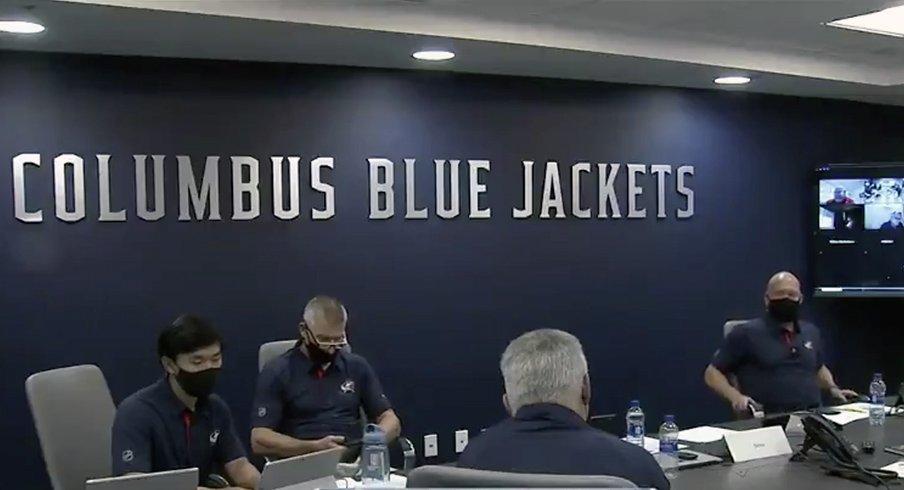 Columbus Blue Jackets War Room
