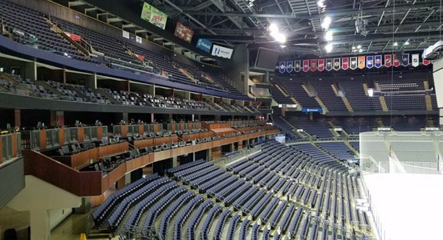 When will Nationwide Arena see fans again? It may be quite a while.