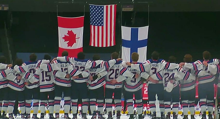 Team USA wins the IIHF 2021 World Junior Championship