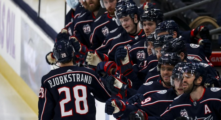 The Columbus Blue Jackets playoff chances are bleak, but they're not completely out of it - yet.