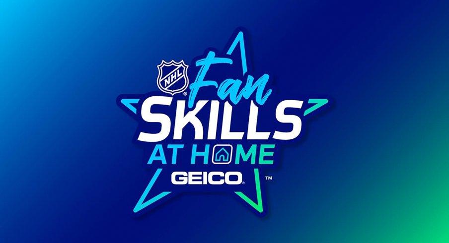 NHL Fan Skills at Home Presented by Geico Logo