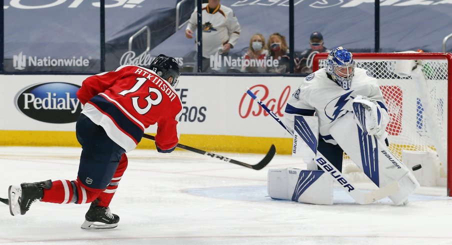 The Columbus Blue Jackets and Tampa Bay Lightning meet again Thursday at Nationwide Arena.