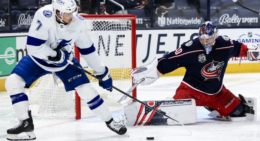 Tampa Bay was a beast on offense Thursday night at Nationwide Arena, defeating the Columbus Blue Jackets 6-3.