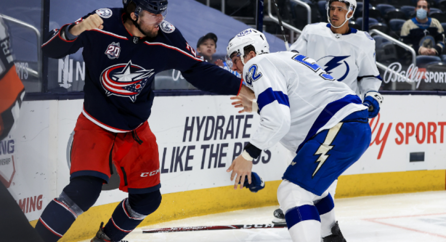 Columbus and Tampa Bay are set to face off from the Sunshine State for their final two games of the season,