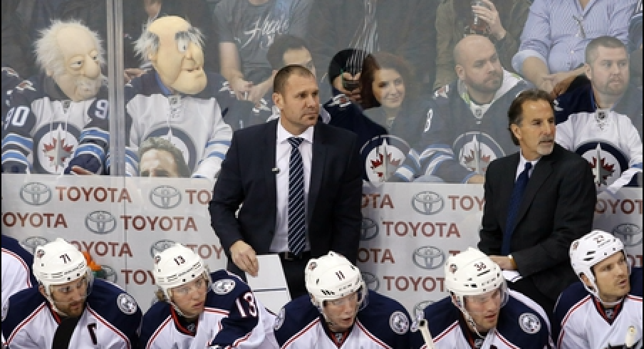 For the Blue Jackets, Brad Larsen could work out better as a head coach than an assistant coach.