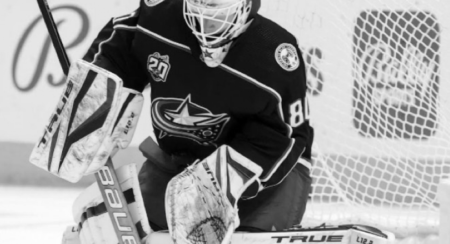 Columbus Blue Jackets goalie Matiss Kivlenieks passed away Sunday at age 24.