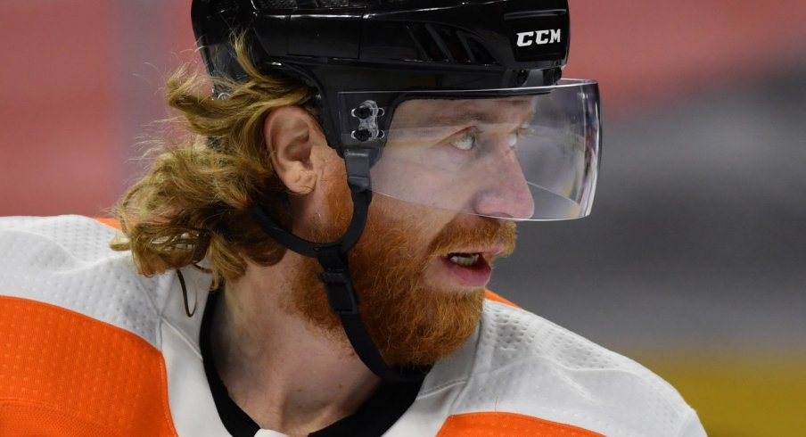 Jakub Voracek is returning to Columbus and will bring a load of veteran leadership to the young Columbus Blue Jackets.